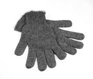 Graue Handschuhe Lizenzfreies Stockbild