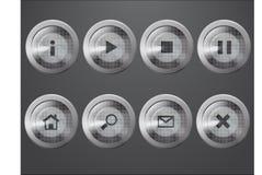graue Ikonen vektor abbildung