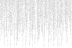 Graue Matrix mit Schatten auf weißem Hintergrund