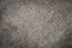 graue Plüsch-Decken-Beschaffenheit Stockbilder
