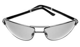 Graue Sonnenbrillen Stockbild
