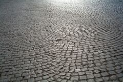 Graue Straße Stockfotografie