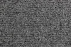 Graue Teppichbeschaffenheit oben gesehen vom Abschluss Lizenzfreie Stockbilder