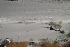 Graue Wüste nahe Pasu in Nord-Pakistan Stockfotos