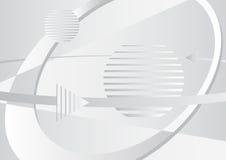 Grauer abstrakter Hintergrund Lizenzfreie Stockbilder