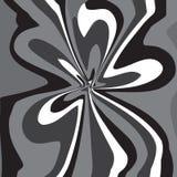 Grauer abstrakter Wellengestaltungselementhintergrund vektor abbildung