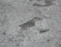 Grauer alter Asphalt Stockbild
