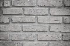 Grauer alter Backsteinmauerhintergrund Stockbild