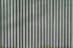 Grauer alter hölzerner gemalter Zaun Lizenzfreies Stockbild