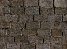 Grauer Betonblockhintergrund Stockfoto
