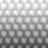 Grauer geometrischer Hintergrund des polygonalen Vektors Lizenzfreie Stockbilder