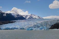 Grauer Gletscher Stockfotografie