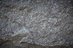 Grauer Granithintergrund-Beschaffenheitsabschluß herauf Vignette Lizenzfreie Stockbilder