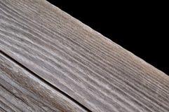 Grauer hölzerner Oberflächenhintergrund Stockfoto