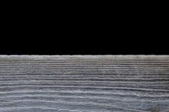 Grauer hölzerner Oberflächenhintergrund Lizenzfreies Stockfoto