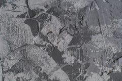 Grauer Hintergrund Beschaffenheit des Kitts, konkret stockfotos