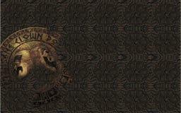 Grauer Hintergrund u. x28; texture& x29; Medaillon Lizenzfreies Stockfoto
