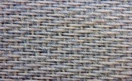 Grauer Hintergrund von einem Gewebe Makro Lizenzfreie Stockbilder