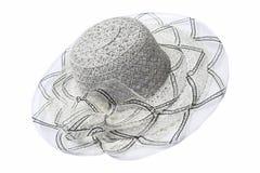 Grauer Hut der Frauen Farb Lizenzfreie Stockbilder