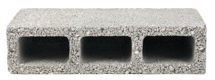 Lokalisierter Bau-Block - einer Stockbilder