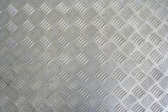 Grauer Metallhintergrund Stockfoto