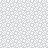 Grauer nahtloser geometrischer vektorhintergrund Lizenzfreie Stockfotos