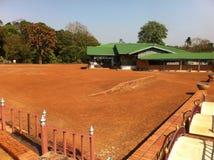 Grauer Palast der Königin Rambhaibarni Lizenzfreies Stockfoto