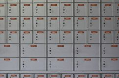Grauer Pfosten-Kasten 4 Stockbilder