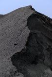 Grauer Sand und Kies Stockfotografie
