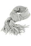 Grauer Schal stockbild