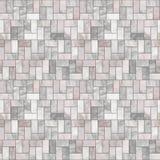 Grauer Steinfußboden-nahtloses Muster Stockbild