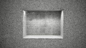 Grauer Steinrahmen Abstarct und Hintergrund, Kopienraum lizenzfreie stockbilder