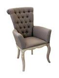 Grauer Stuhl lizenzfreie stockbilder