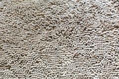 Grauer Teppich, als Hintergrund Stockfoto