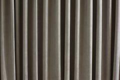 Grauer Vorhanghintergrund Stockbild