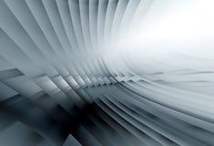 Grauer weicher glühender Hintergrund Stockfotos