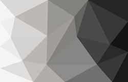 Graues abstraktes Hintergrundpolygon Lizenzfreie Stockfotos