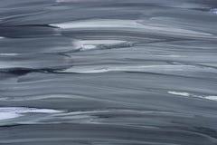 Graues Acryl befleckter gemalter Hintergrund Lizenzfreie Stockbilder