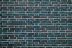 Graues Blau der Backsteinmauer Lizenzfreies Stockfoto