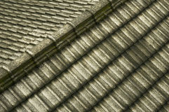 Graues Dach Stockfotografie