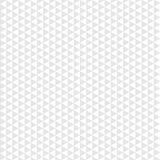 Graues Dreieck des nahtlosen Musters auf weißem Hintergrund Lizenzfreie Stockfotografie