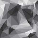Graues Dreieckhintergrundmuster Lizenzfreies Stockbild