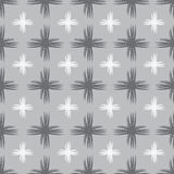 Graues geometrisches nahtloses illustartion Stockfoto