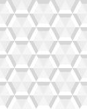 Graues Hexagon nahtlos Lizenzfreie Stockfotografie