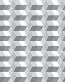 Graues Hexagon nahtlos Lizenzfreies Stockfoto