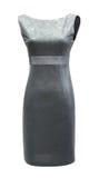 Graues Kleid der Damen, Ausschnittspfad stockbilder