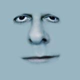 Graues Lächeln Lizenzfreies Stockfoto