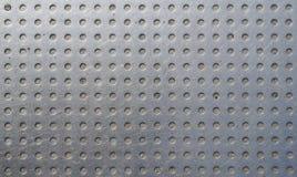 Graues Metallrasterfeld Lizenzfreies Stockfoto