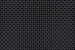 Graues und weißes Tupfenmuster, nahtloser Hintergrund Lizenzfreies Stockfoto
