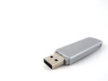 Graues USB-Laufwerk Lizenzfreies Stockbild